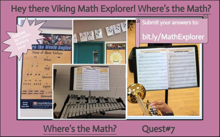 Where's the Math- Quest#7