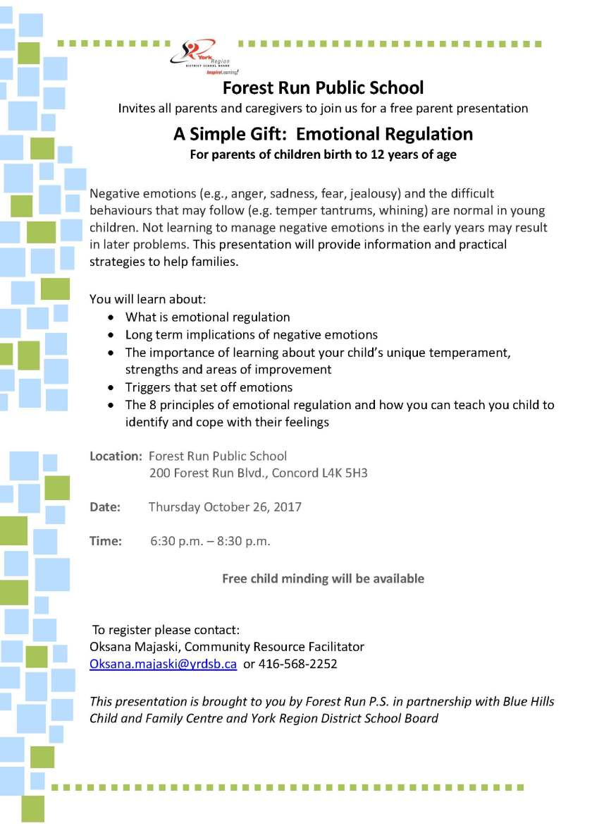 Simple Gift Parenting Workshop October 262017