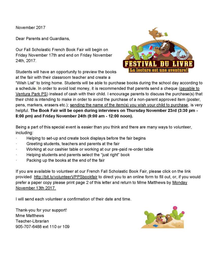 Fall 2017 Book Fair - Parent Info Letter and Volunteer Form_Page_1