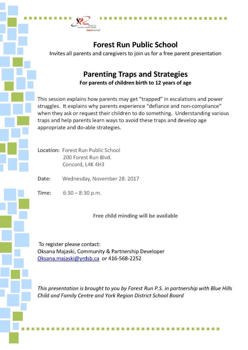 Parenting Traps Nov 28