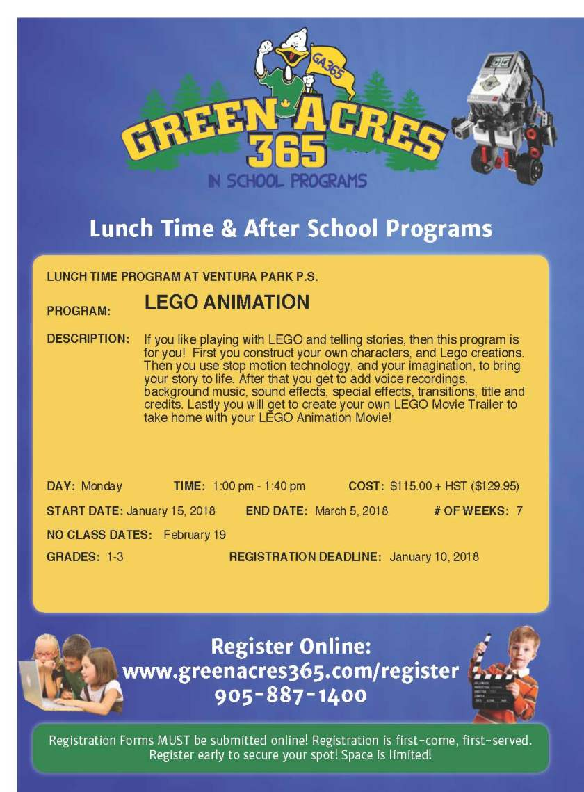 Ventura Lego Animation