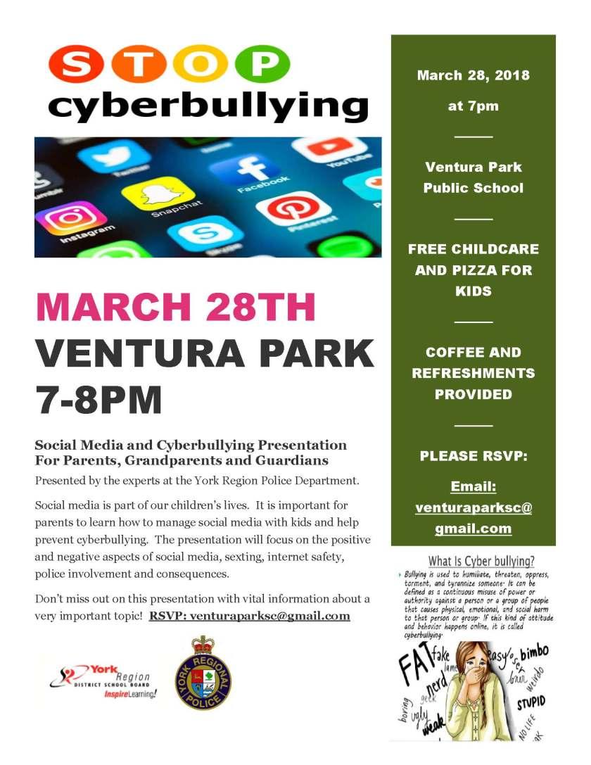 cyberbully flyer
