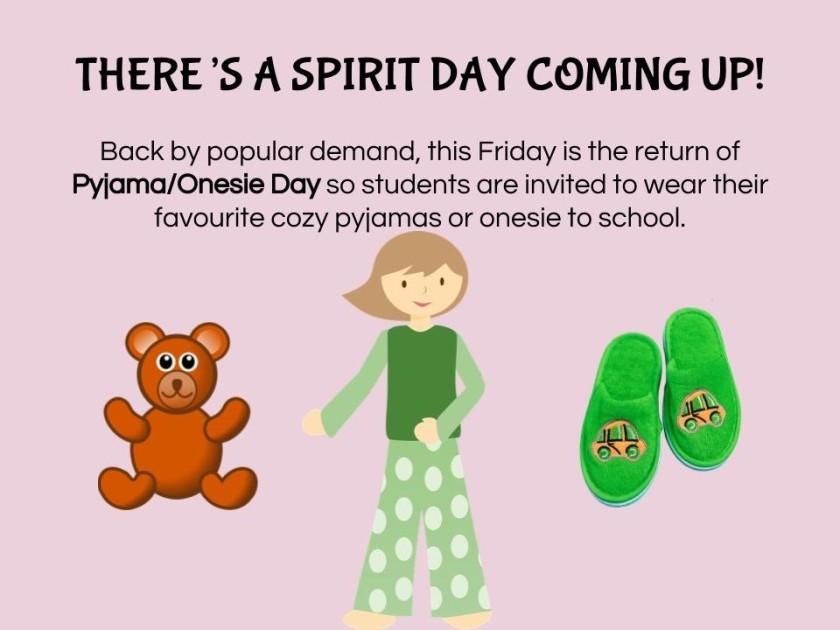 Pyjama Day April 20
