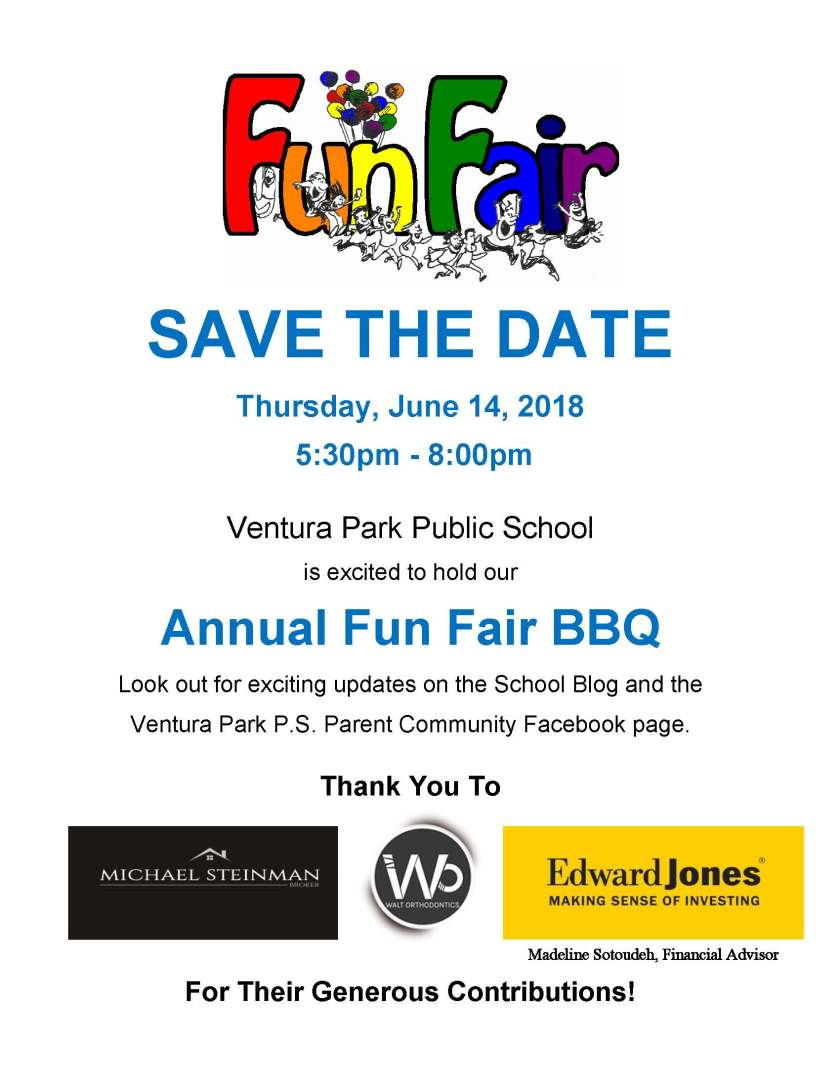 SAVE THE DATE Fun Fair