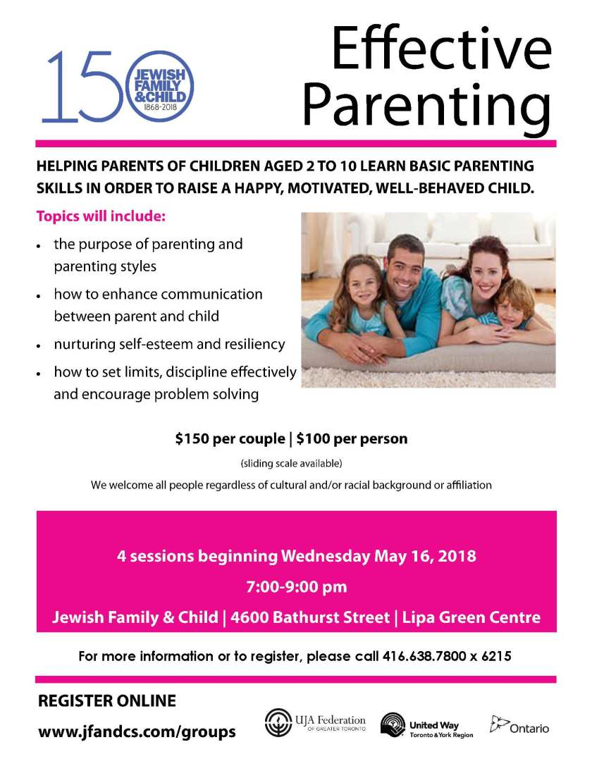 Effective Parenting May 16