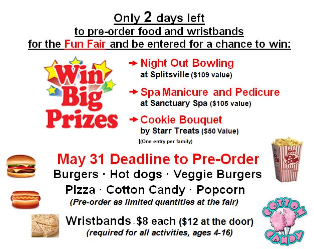 Fun Fair May 30, 2018