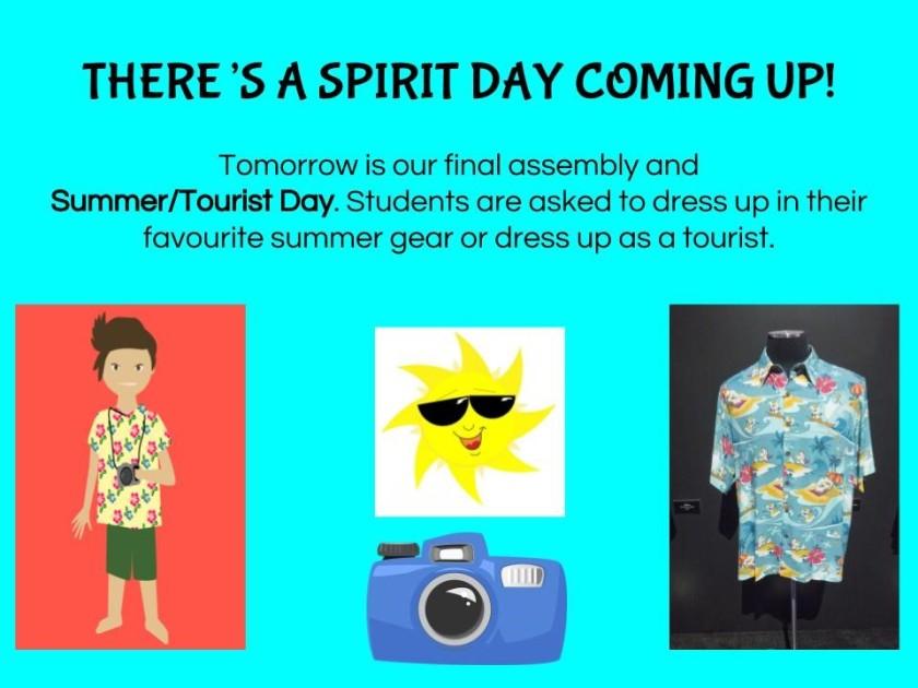 Spirit Day June 26, 2018