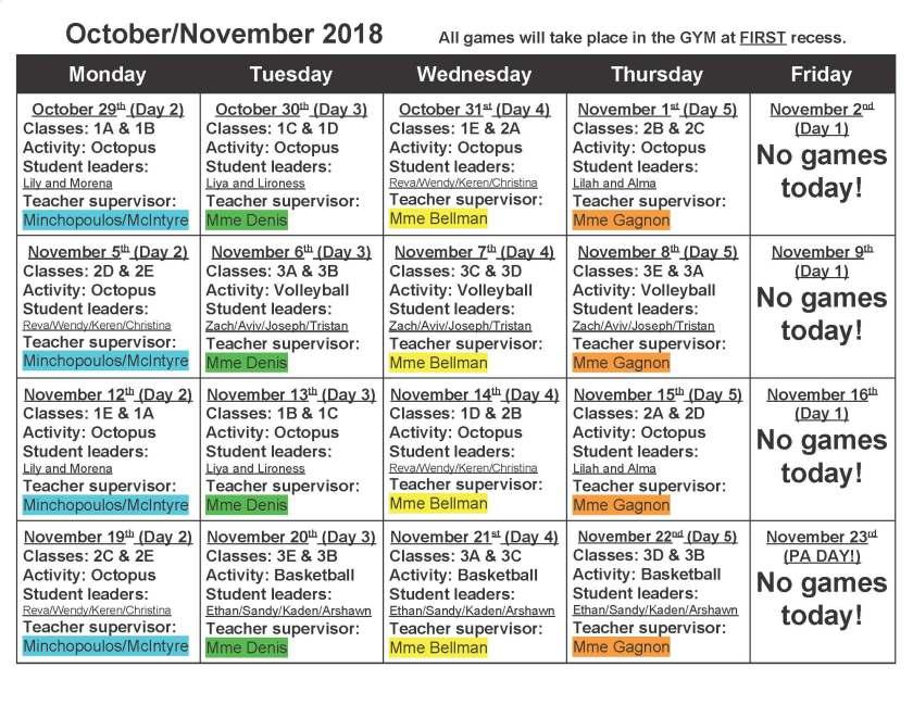 Primary Intramurals Calendar 2018-2019_Page_1