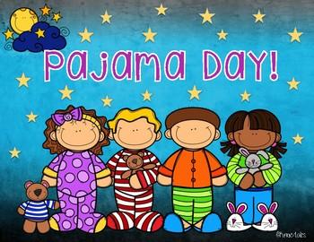 Pajama day graphic