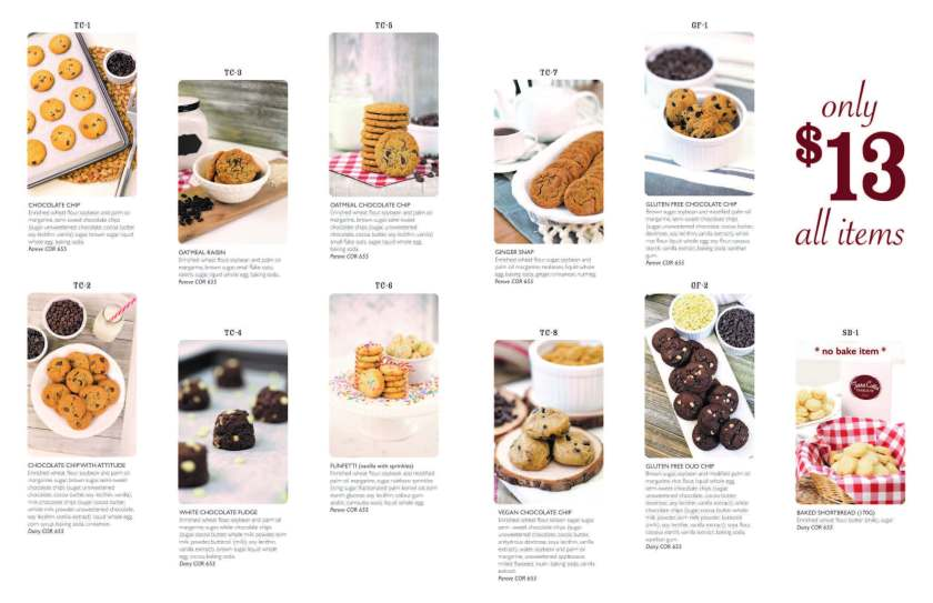 Cookie Catalogue