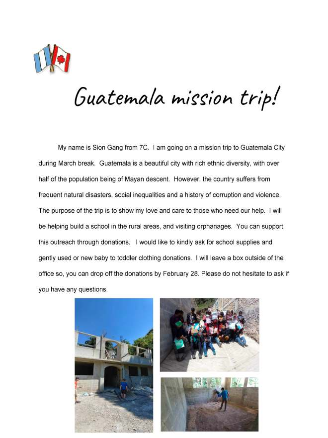 Gutemala-My Mission Trip