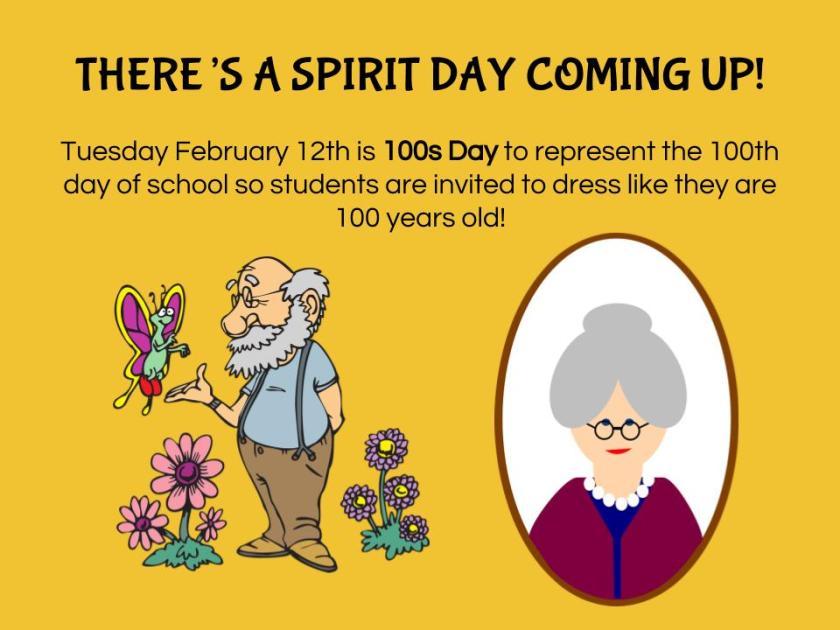 Spirit Day - 100s Day (2)