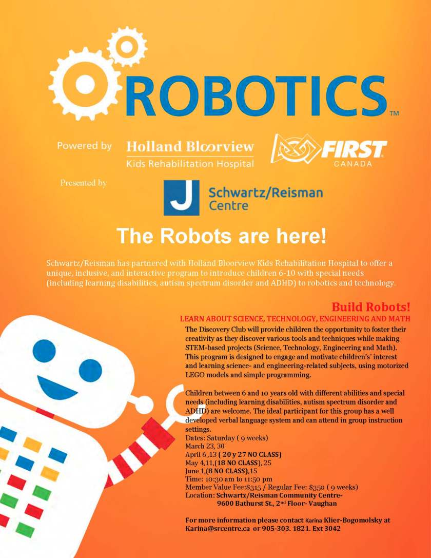 Discovery Club- Robotics- HB- 2019