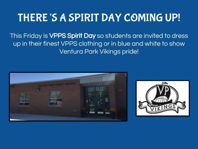 Spirit Day - VPPS Spirit